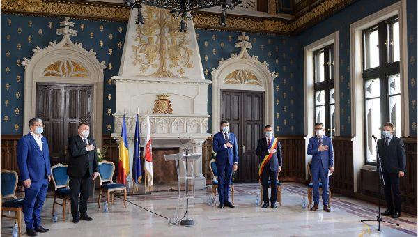 Costel Alexe a fost investit în funcția de Președinte al Consiliului Județean Iași