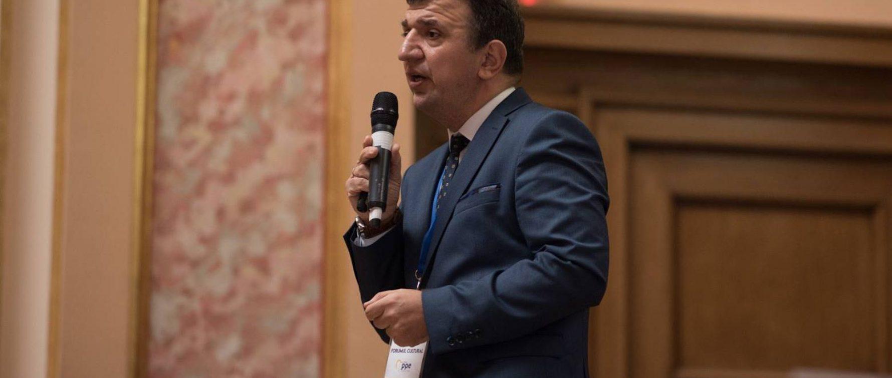 Secretarul de Stat Liviu Brătescu, pe lista PNL Iași pentru Senat: Cercetător, istoric, fost director al Ateneului, implicat în viața culturală a Iașului