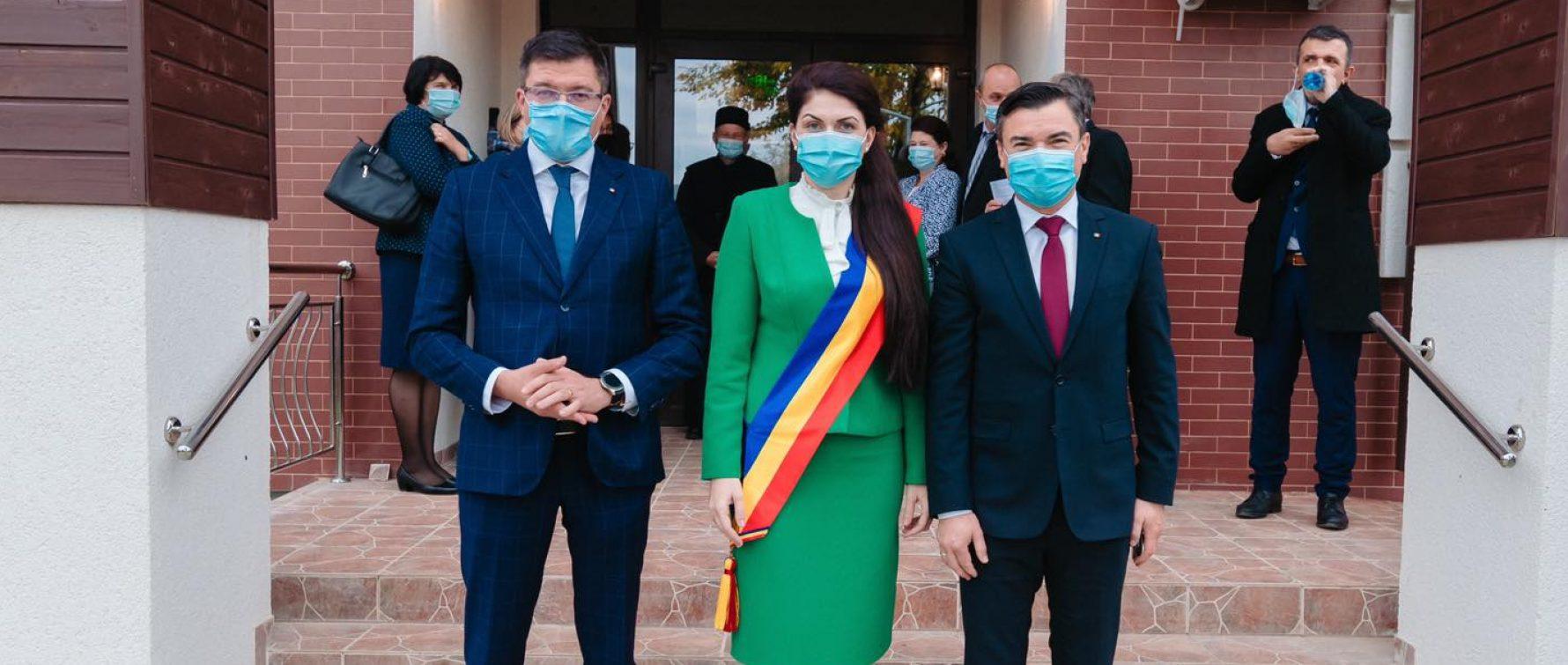 Alina Apostol a fost învestită în funcția de primar – un nou mandat în care să continue dezvoltarea comunei Ciortești
