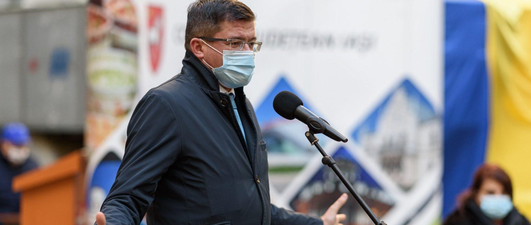 """Costel Alexe, președintele CJ Iași: """"Valorificăm toate liniile de finanțarea posibile pentru atragerea investițiilor la Iași"""""""