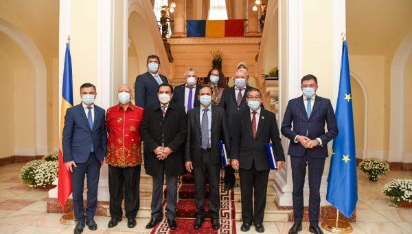 Primii pași pentru dezvoltarea județului: Iașul a fost gazda unei delegații de ambasadori