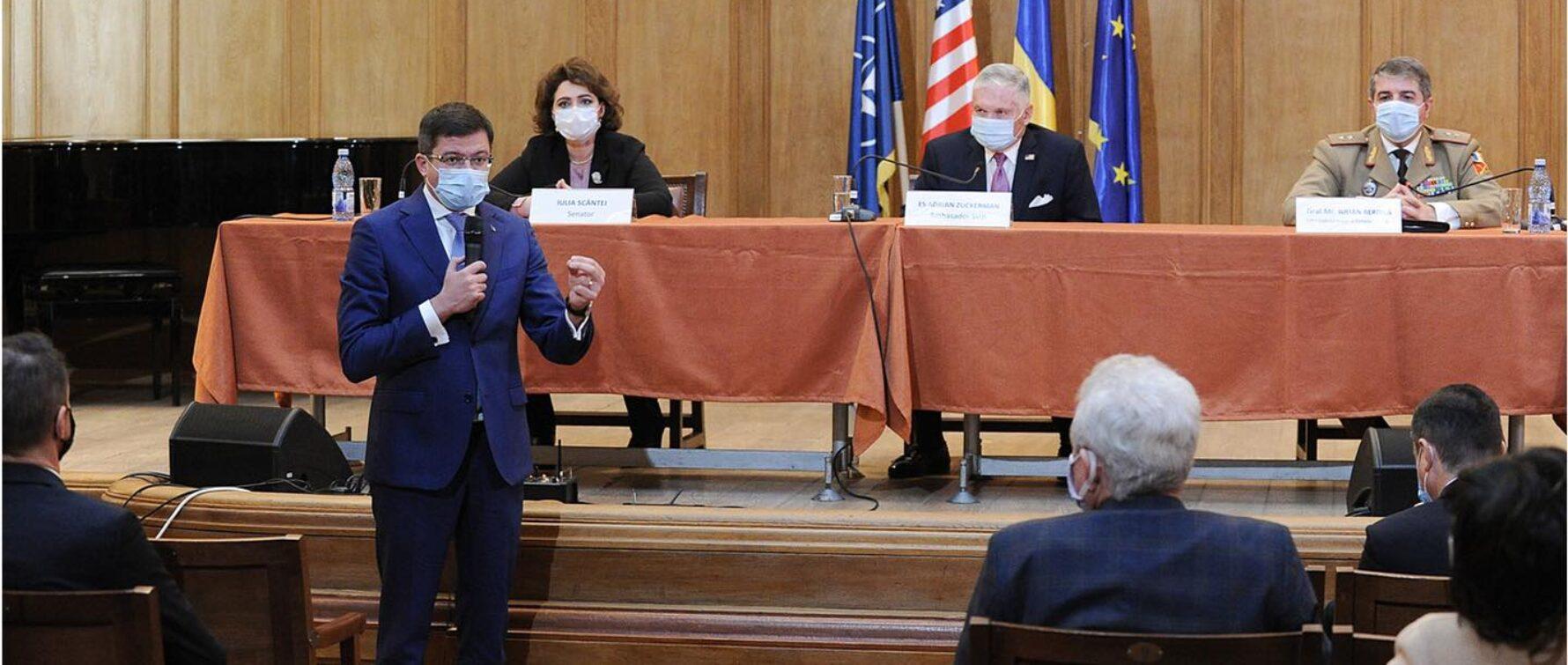 Costel Alexe, despre oportunitățile pe care parteneriatul strategic româno-american le poate crea la nivel județean
