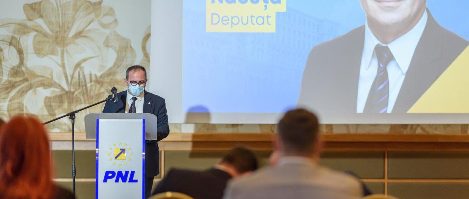 Sorin Năcuță, la prezentarea Programului de Guvernare: Dezvoltarea infrastructurii reprezintă o condiție obligatorie pentru stimularea investițiilor