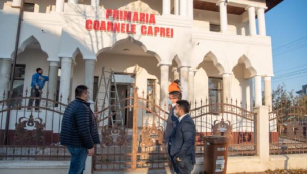 Președintele CJ Iași, vizită la Coarnele Caprei. Proiectele comunei, sprijinite de conducerea județului