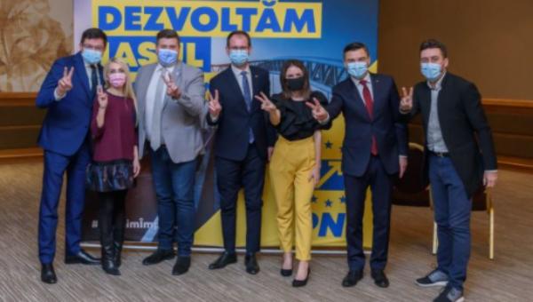 PNL Iași are cei mai mulți tineri pe listele candidaților pentru alegerile parlamentare din întreaga țara