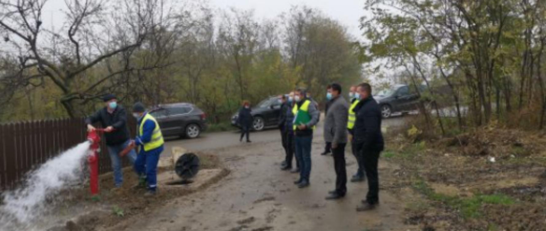 Investiție mult așteptată la Românești: Primăria a făcut recepția celei mai mari extinderi a rețelei de apă